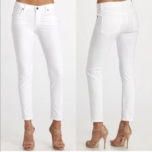 Citizens of Humanity Thompson White Skinny Jeans